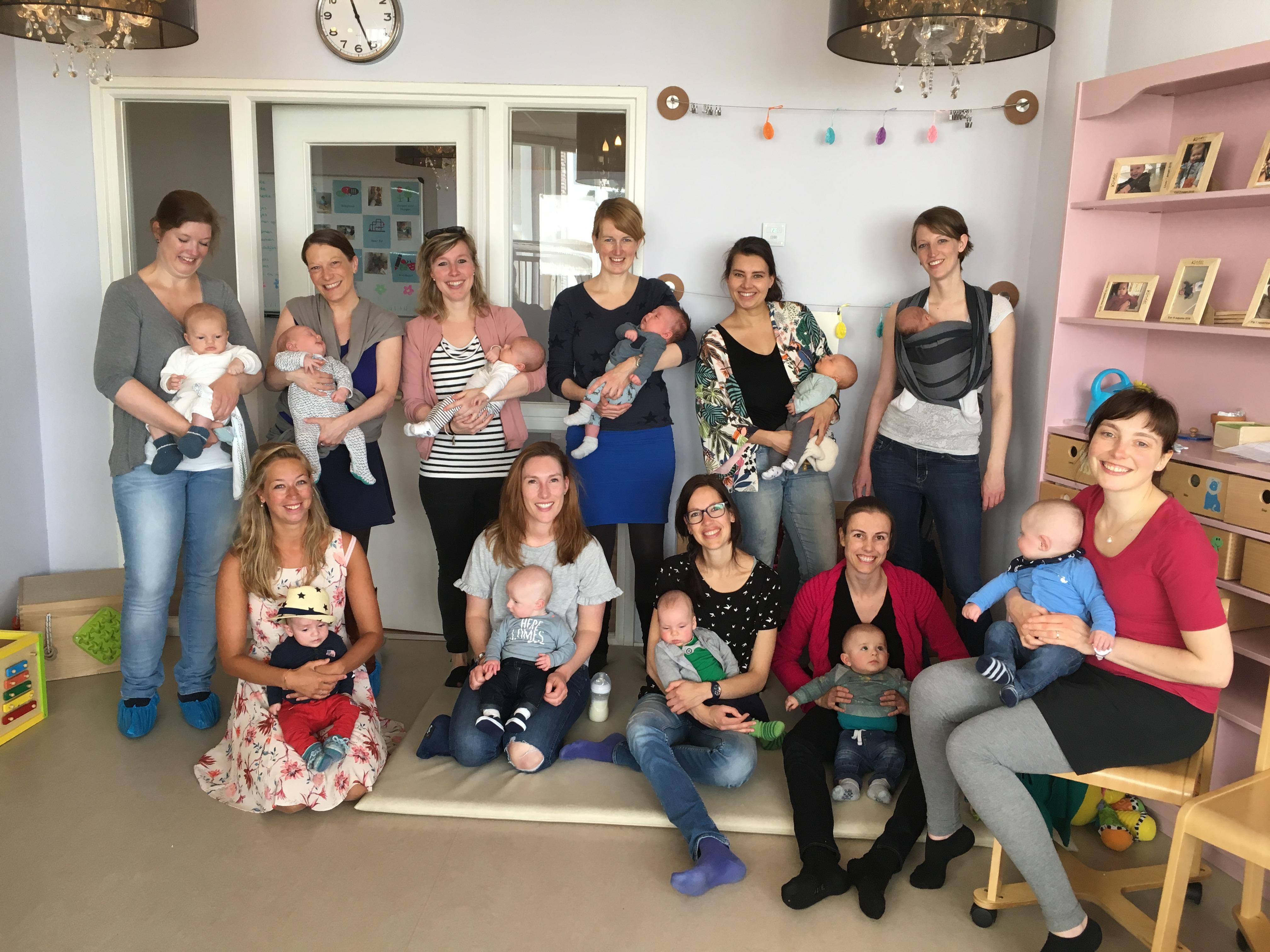 Terugkombijeenkomst zwangerschapsyoga